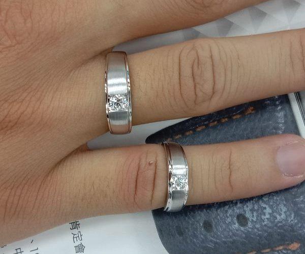 快搶 流當鑽石拍賣 周年慶 GIA 30分 H色 K金 男女對戒 特價出清 買到賺到 ZS238